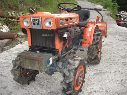 kubota tractor B5001 クボタトラクターB5001「ブルトラ」眉間には強そうな牛(BULL)のマーク。