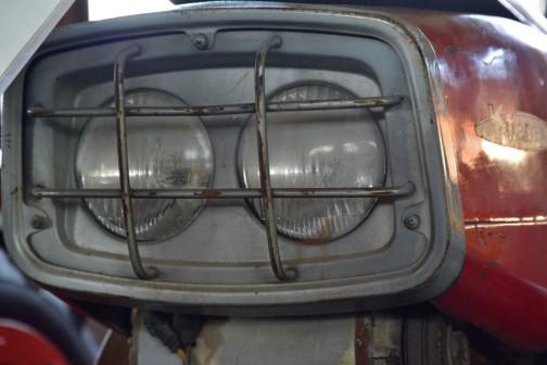 1964 KUBOTA Tractor RY70 10PS ちょうど今年で50歳。デュアルライトの乗用トラクタ、クボタRY-70
