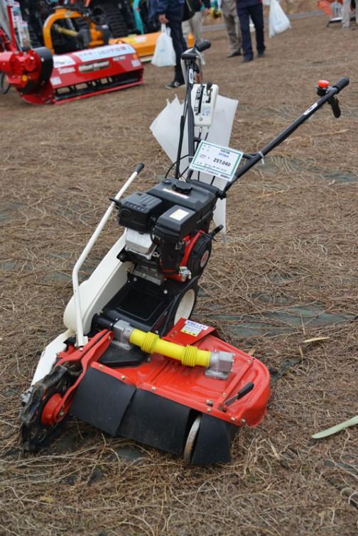 やまびこ 畦草刈機 AZ736A 価格¥257,040 質量 62kg 刈幅 690mm(350.350) 馬力 6.3PS