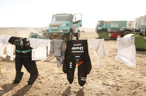 こちらも・・・ホコリがついてないからやっぱり洗濯したのかなあ・・・余裕ですね。むくつけき男どもが洗濯している姿を想像すると笑っちゃいます。
