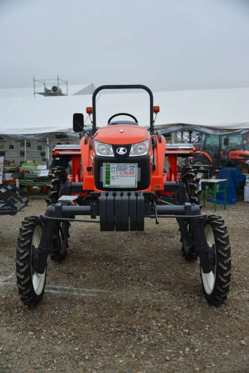 kubota_tractor_FT25BMP-NE クボタグランフォース FT25ネギ仕様 価格¥3,196,800 ★25馬力 ★総排気量:1499cc ★ネギ仕様