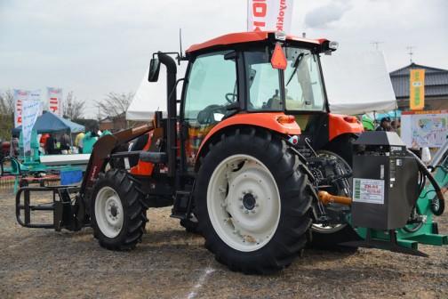 KUBOTA TRACTOR REXIA MR97QMAXWUR3 クボタ新型トラクター「レクシア」MR97QMAXWUR3