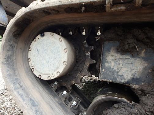 こちらが駆動輪側でしょうか。