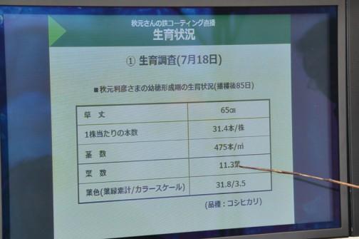 生育状況 1.生育調査(7月18日)