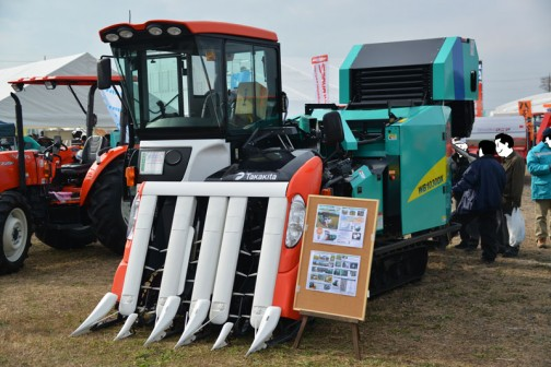 タカキタ裁断型ホールクロップ収穫機WB1030DXです。
