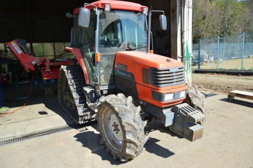 kubota tractor GM64 クボタGM64パワクロ。もちろん64馬力。