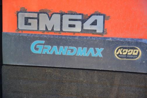 kubota tractor GM64 クボタグランドマックスGM64パワクロ。
