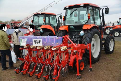 そのクボタトラクター ニューシナジー MZ655に付いていた、ニプロ 不耕起播種 NSV601 価格¥3,024,000