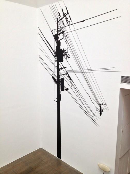 そういえば水戸芸術館で今行われている「山口晃展」で同じような感じのものが展示されていたっけ・・・