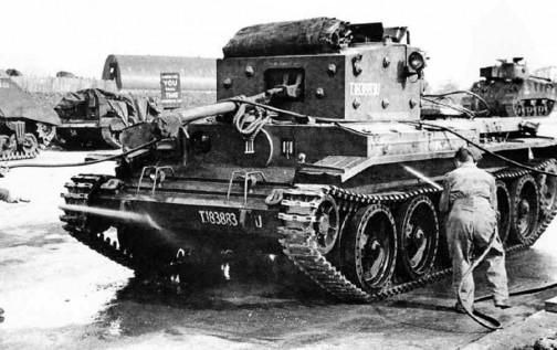 巡航戦車 Mk.VII キャバリエ