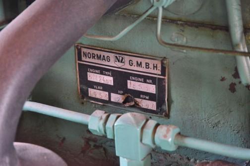 エンジンタイプ BM24b1 年式 1956年 22馬力/1500rpm