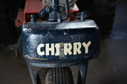 機種名: チェリートラクタ 形式・仕様:CT-52 7馬力 製造社・国:神農工社 日本 導入年度:1956年(昭和31)年
