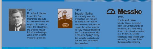 MESSKO社は1911年にアルバート・ハウザー博士によって設立された精密機械の研究所が元になっていて、今でいう産学共同の会社のようです。