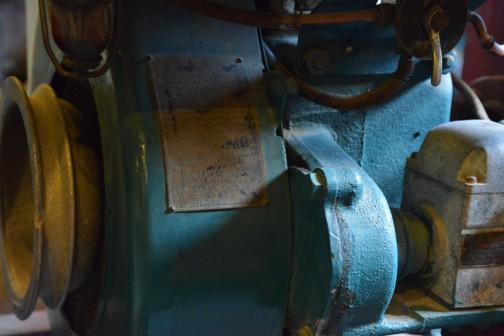 シバウラガーデントラクタ  1955年(昭和30) 石川島芝浦機械㈱ 製 (日本) AT-5型 9馬力 空冷エンジン搭載