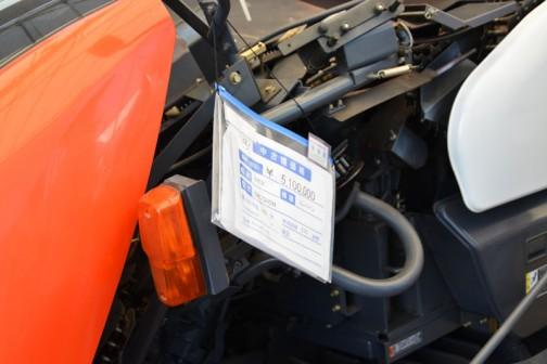 クボタコンバインER572HDM 中古価格¥5,100,000 購入初年度H22年 使用時間210時間 キャノピー付