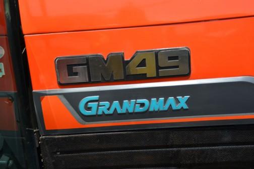 kubota tractor GRANDMAX GM49 クボタトラクター グランドマックス GM49 グランドマックスとインフレは始まっていますが、まだまだシンプルなこの部分。いい感じです。