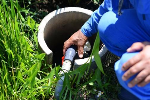 昨日の大場町は大騒ぎでした。今まではなかった、稲作シーズン中のパイプライン蛇口(バルブ)の盗難が発覚したからです。
