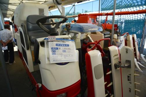 ヤンマーコンバインGC219JWLL 中古価格¥1,600,000 使用時間62時間 OKデバイダ付