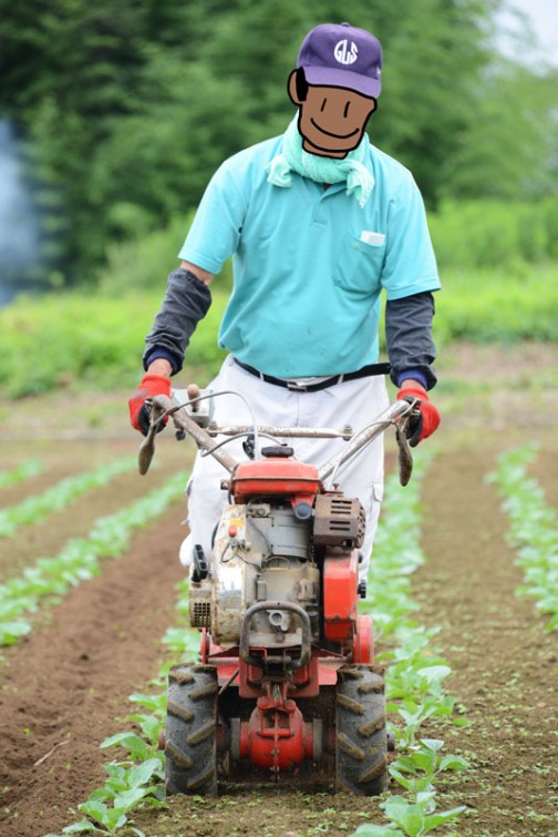 マメトラ 「ニュー利根」 MC-400 hand-tractor MC-400
