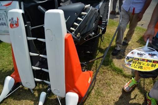 クボタコンバイン エアロスターラクリード ER217GW-C こんなに狭くても全面刈りだそうです。