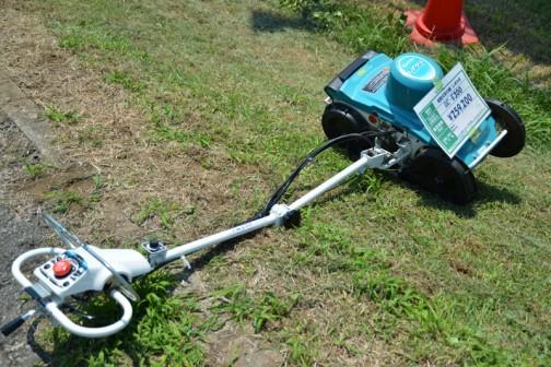 クボタ電動式草刈機 しずかる GC-E300 価格¥259,200