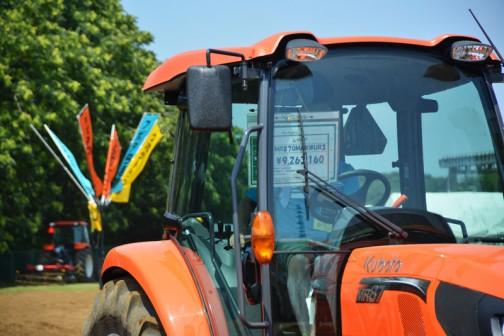 一方、トラクターのほう。レクシア KUBOTA TRACTOR REXIA MR87QMAXWUR3 価格¥9,263,160