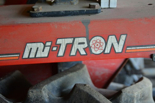 そのシバウラにもこのマークが・・・mi-TRON