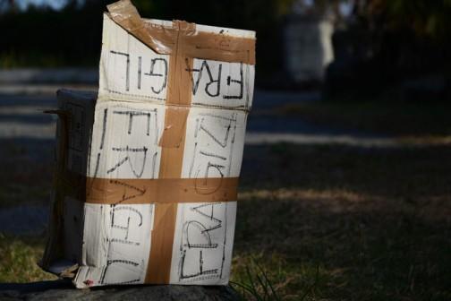 ル・クルーゼの箱。ねっ?アートでしょ?