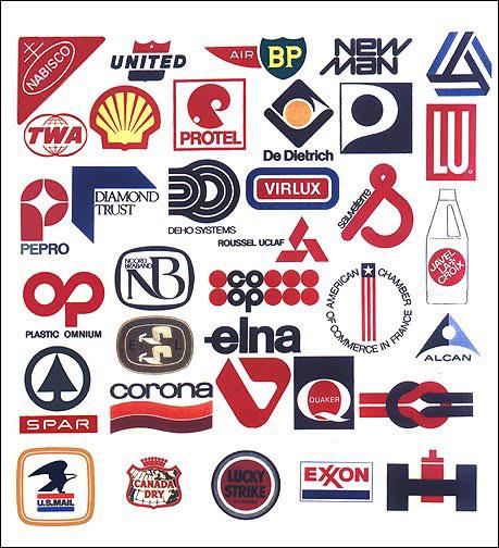 ローウィさん、平面デザインも相当な数こなしています。彼のデザインしたロゴの数々。今でも目にするものばかり。それにちっとも色あせていませんね!
