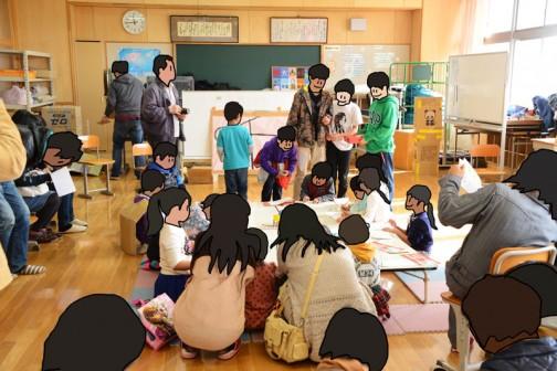 結構生徒さんが集まりました。得意げにマルをつけて歩く小さな先生たちが微笑ましかったです。