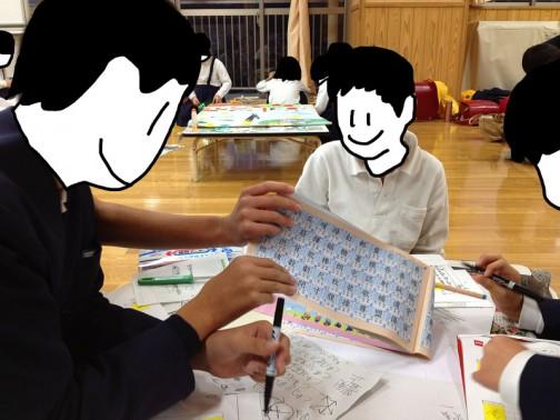 漢字ドリルを眺めながら考えています。
