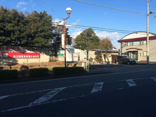高崎競馬場運動公園にはここから入るようです。