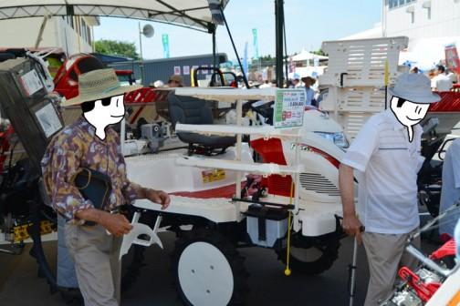 これなんか去年は見なかったかも・・・それとも色合いが違うだけかなあ・・・ ヤンマー高速6条植ディーゼル田植機 RG6X,XU-ZF 価格¥3,024,000