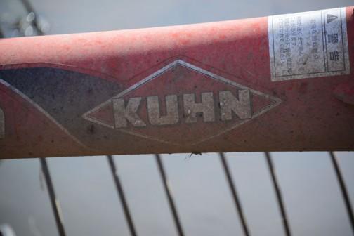 突然ですが、ついでにKUHNのロゴ。