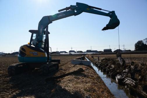 水戸市大場町島地区では2014年度から『資源向上活動(長寿命化)』の活動も行っています。