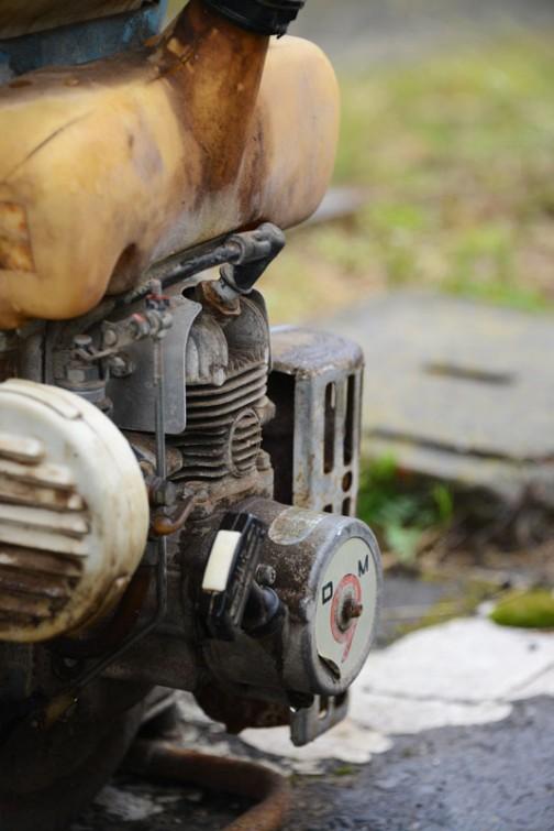 目を引くせいか、エンジンばかり撮っています。