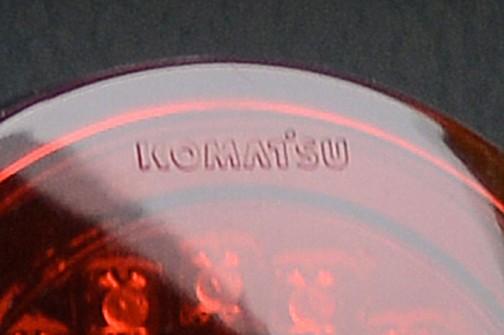 コマツ茨城工場で行われたコマツ茨城工場フェア。コマツホイールローダーWA500-8