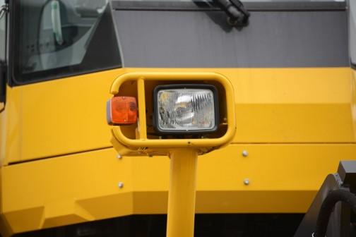 コマツ茨城工場で行われたコマツ茨城工場フェアのコマツホイールドーザーWD600