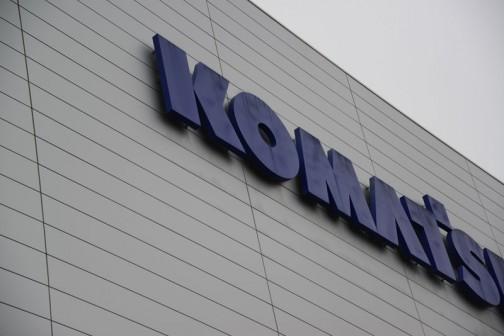 コマツ茨城工場で行われたコマツ茨城工場フェア