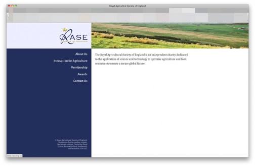 イングランド王立農業協会にはWEBページがありました。(http://www.rase.org.uk/)