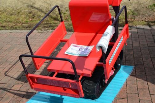 """クボタ小型クローラ運搬車 K-BP42 RFOA 価格¥253,800 K以降の型番が同じなので筑水キャニコムのピンクレディ""""ポピー""""なんだと思います。"""