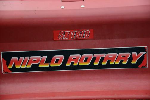 これはロータリー。黄と赤のグラデーション。 SX1810