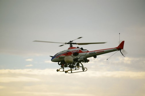 そしてこれがそのAYH-3。早朝の眠そうな朝日をバックにシルエット気味。