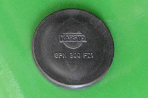 拡大してみると昔の日産のロゴみたいなマークが付いてます。品番はGPN 300