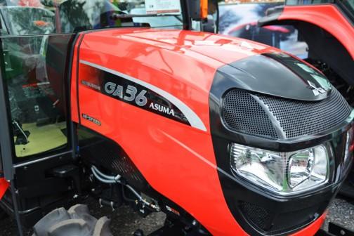 三菱トラクタ GA36HXUV 価格¥4,741,200 36馬力HASC(ノークラッチ変速)クイックアップ バックアップ 旋回アップ 逆転PTO オートブレーキ旋回 自動4WDブレーク Sモード 水平自動制御(ジャイロMAC)