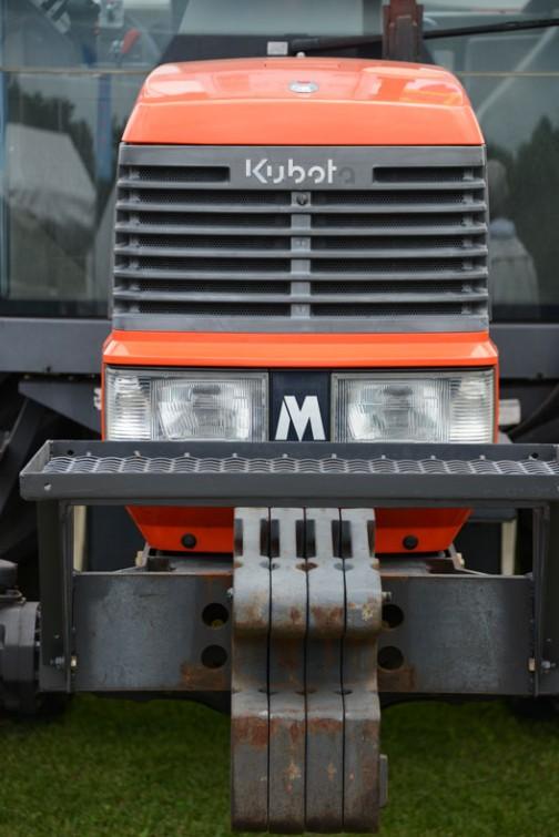 クボタトラクターMD97「撮りトラ」です。