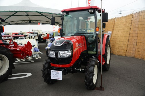三菱トラクタGM450XB。
