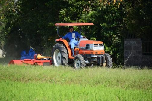 スライドモア草刈り