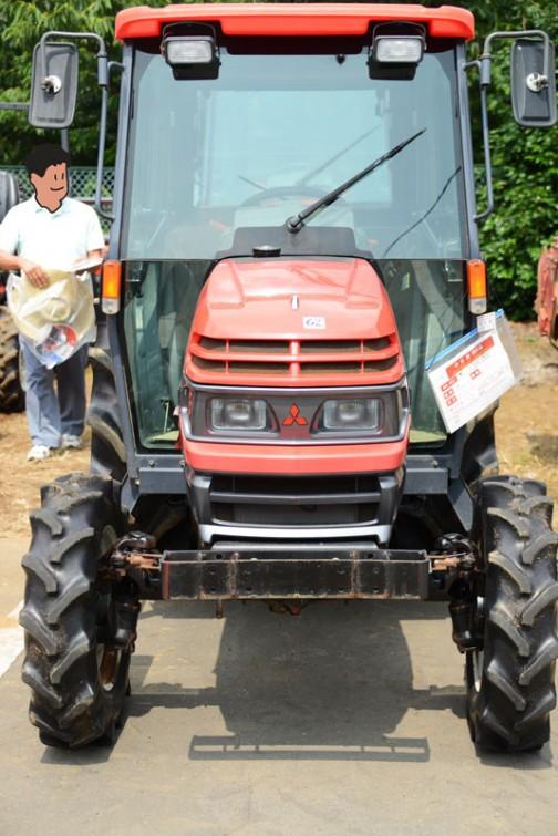 三菱マヒンドラ農機株式会社MT331は農研機構の安全鑑定検索によると1999年に鑑定を受けています。主な仕様は、4輪駆動 機関24.3kW{33PS}/2800rpm、1.5L 希望小売価格は¥2,783 3,809(CAB) だそうです。