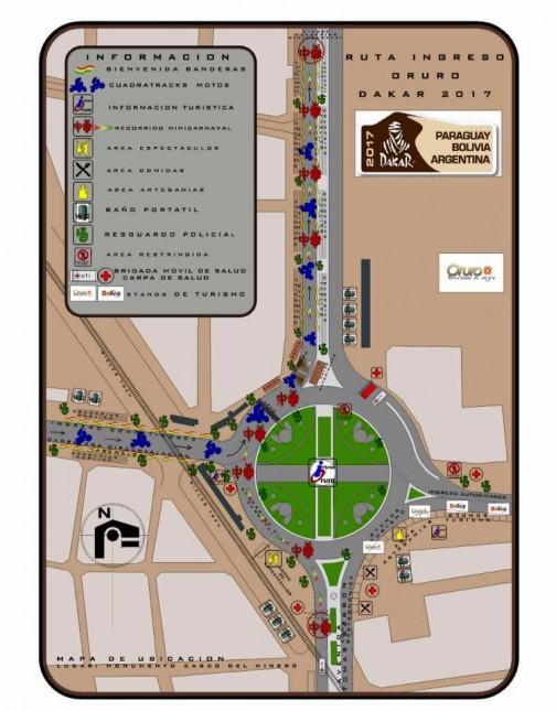 オルロのビバークのヒントも見つかった。オルロ市内のこのルート図からすると・・・